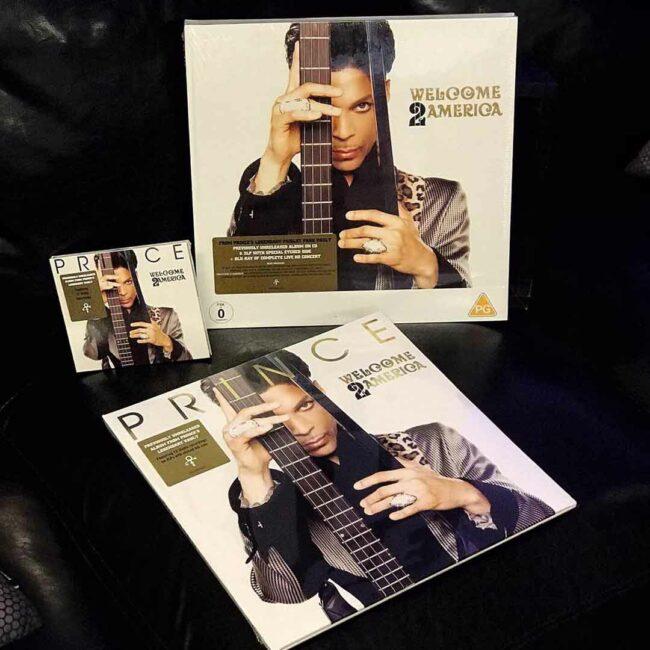 Semm Music Store Prince Welcome 2 America